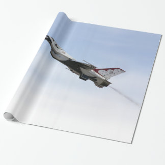 F-16 Thunderbird In Flight Wrapping Paper