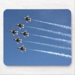 F-16 Thunderbirds Delta Formation Mousemat