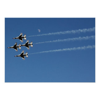F-16 Thunderbirds Diamond Formation Personalized Invite