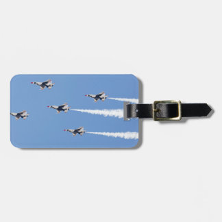F-16 Thunderbirds flying the five-card formation Luggage Tag