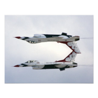 F-16 Thunderbirds Maneuver - Inverted Personalized Invite