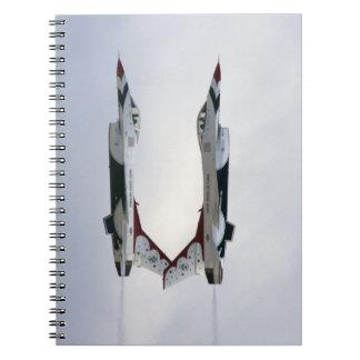 F-16 Thunderbirds Maneuver - Inverted Notebook