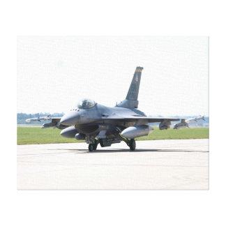 F-16C of the 20th FW from Shaw A.F.B., S.C. Gallery Wrapped Canvas