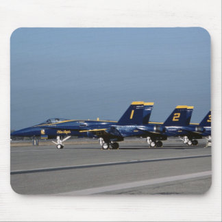 F 18 Blue Angels Mouse Mat