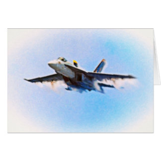 F-18 from CVN-76 Greeting Card