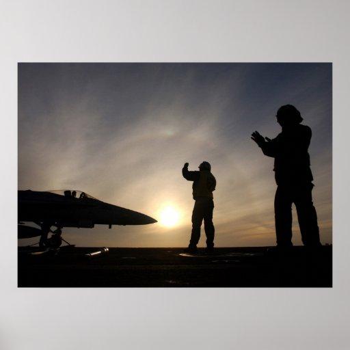 F-18 Ground Crew Print