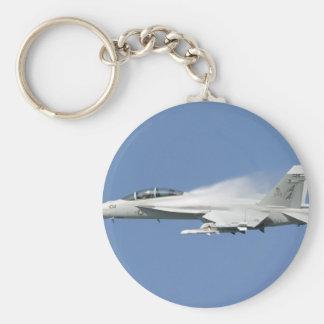 f-18 HORNET Basic Round Button Key Ring