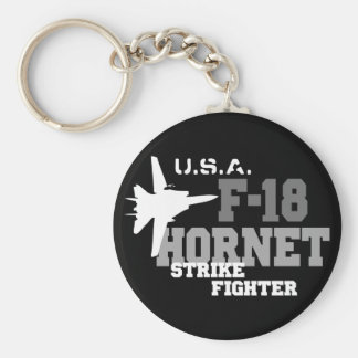 F-18 Hornet - Strike Fighter Keychain