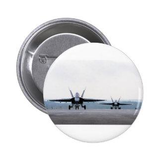 F-18 Super Hornet 6 Cm Round Badge