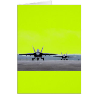F-18 Super Hornet Greeting Card