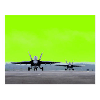 F-18 Super Hornet Postcard
