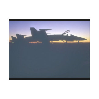 F-18s. (jet;airplane_Military Aircraft Canvas Print
