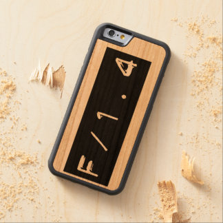 f/1.4 Selective Focus Wood iPhone 6/6s Case