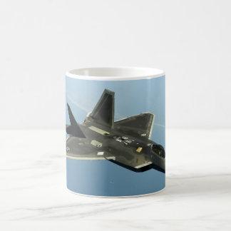 F-22 Fighter Jet Coffee Mug