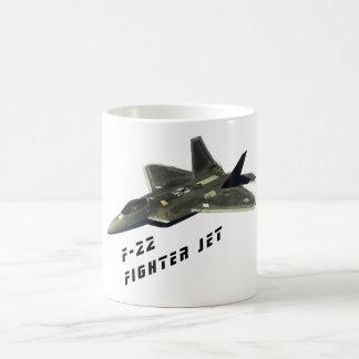 F-22 Fighter Jet, Raptor Coffee Mug