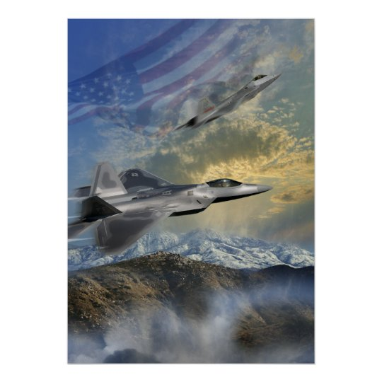 F-22 Rangers 14 Poster