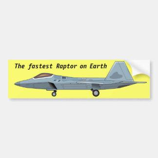 F-22 Raptor Bumper Sticker Car Bumper Sticker