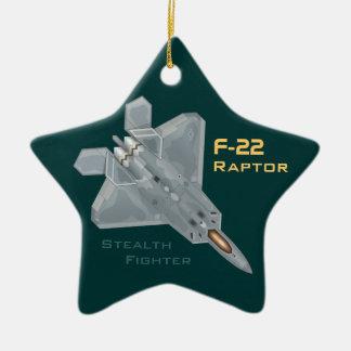 F-22 Raptor Christmas Ornament