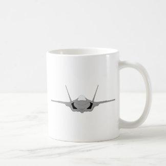 F-22 Raptor - Head-On Basic White Mug