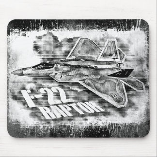 F-22 RAPTOR NULL MOUSE PAD
