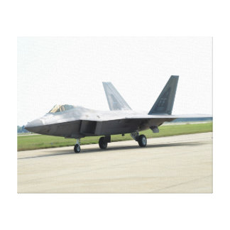 F-22 Raptor of the 1st FW Canvas Print
