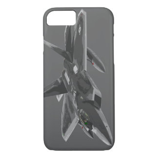 F 22 Raptor Stealthy Fighter Aircraft iPhone 7 Case