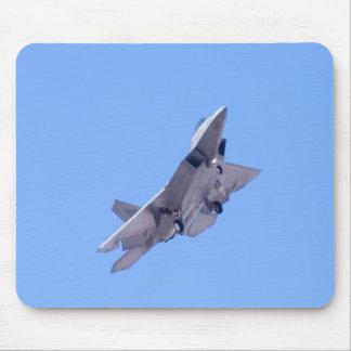 F-22A Raptor Approach Bank mousepad