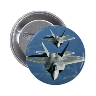 F-22a_Raptors 6 Cm Round Badge