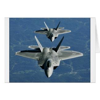 F-22a_Raptors Greeting Card