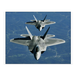 F-22a_Raptors Post Card