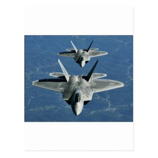 F-22a_Raptors Postcard