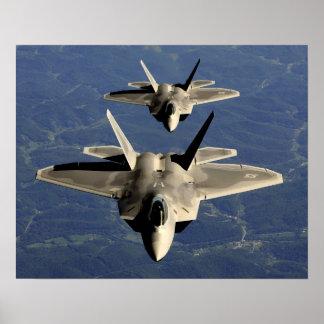 F-22A Raptors Poster
