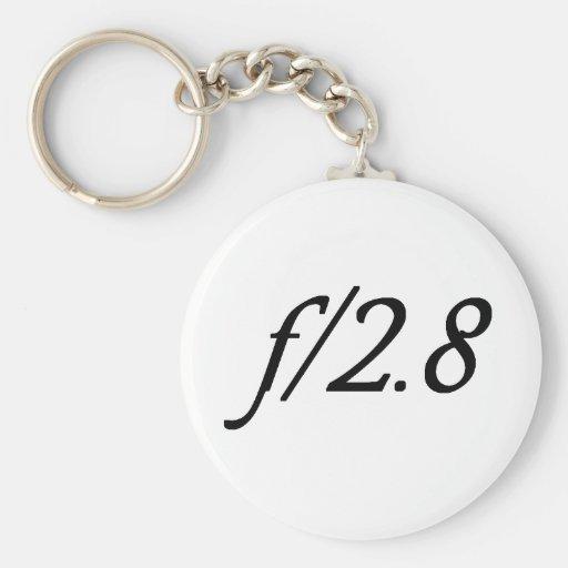 f/2.8 keychains