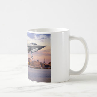 F-35 LIGHTNING FIGHTER AIRCRAFT COFFEE MUG