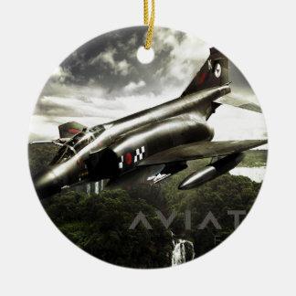 F-4 Phantom Fighter Jet Christmas Ornament