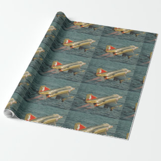 F-4 PHANTOM FIGHTER JET WRAPPING PAPER