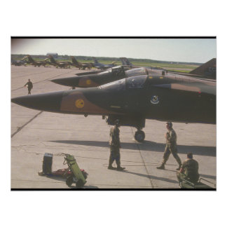<F-5 Freedom Fighter_Military Aircraft Poster