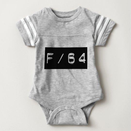 F/64 Baby Football Bodysuit