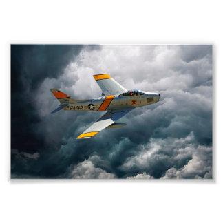F-86 Sabre Photo Art