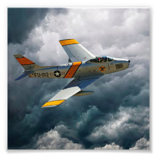 F-86 Sabre Photo Print