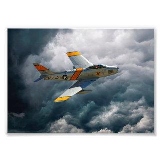 F-86 Sabre Photograph