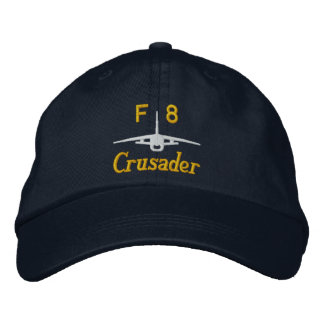F-8 Golf Hat Embroidered Hats