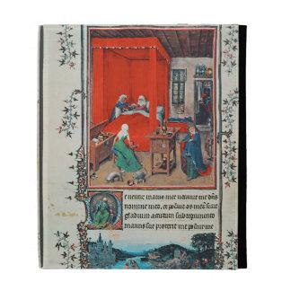 f.93v The Birth of John the Baptist and the Baptis iPad Cases