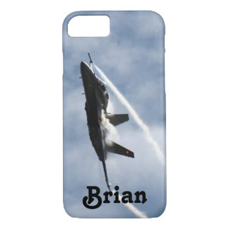 F/A-18 Fighter Jet Plane Air Show for Brian iPhone 8/7 Case