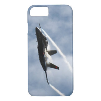 F/A-18 Fighter Jet Plane Air Show Stunt Flying iPhone 8/7 Case