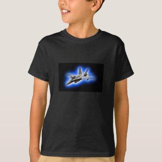 F/A-18 Hornet Fighter Jet Light Blue T-Shirt