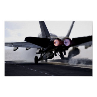 F/A-18C Hornet Afterburner Takeoff Print