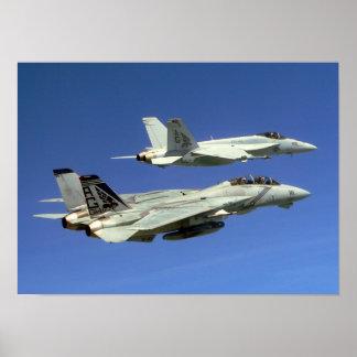 F/A-18E Super Hornet Poster