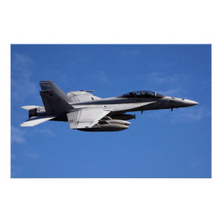 F/A-18F Super Hornet Poster