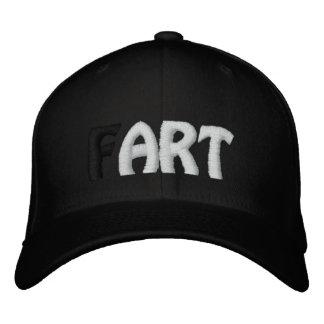(F)ART - Black Hat Embroidered Baseball Caps